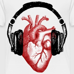 musical heart - Kids' Premium T-Shirt