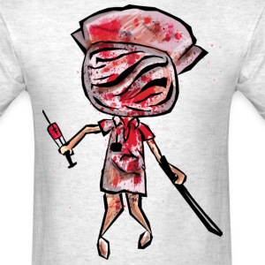 nurse zombie - Men's T-Shirt