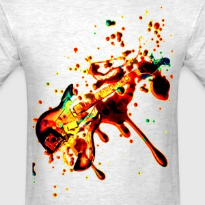 splash guitar - Men's T-Shirt