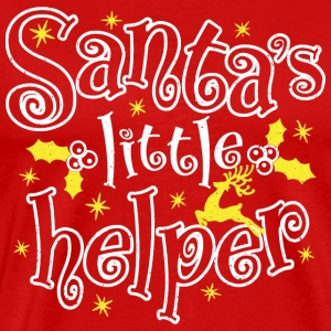 Santa's little helper - Men's Premium T-Shirt