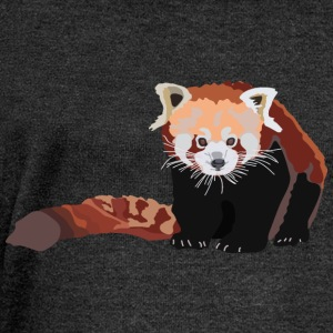RedPanda Long Sleeve Shirts - Women's Wideneck Sweatshirt