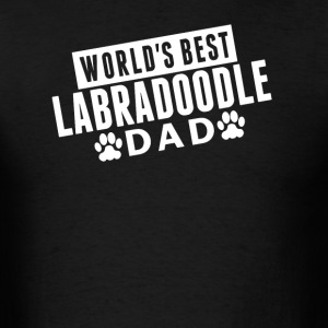 World's Best Labradoodle Dad - Men's T-Shirt