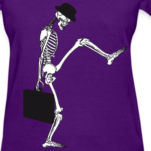 death silly walking girly - Women's T-Shirt