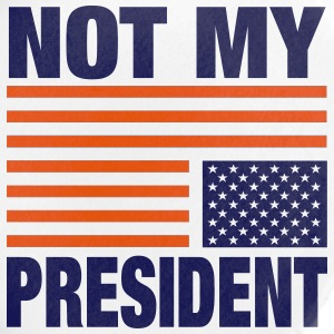 Not my President - Small Buttons