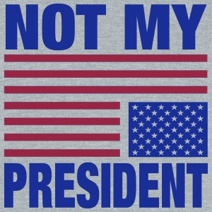 Not My President - Unisex Tri-Blend T-Shirt by American Apparel