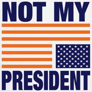Not my President - Trucker Cap