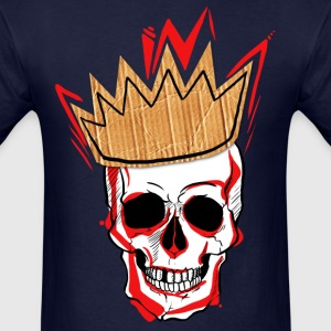 king skull - Men's T-Shirt