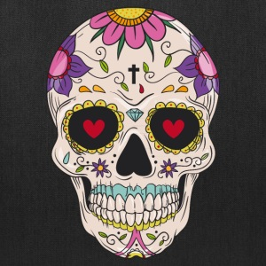 Sugar Skull - Day of the Bags & backpacks - Tote Bag