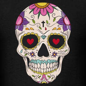 Sugar Skull - Day of the T-Shirts - Men's T-Shirt