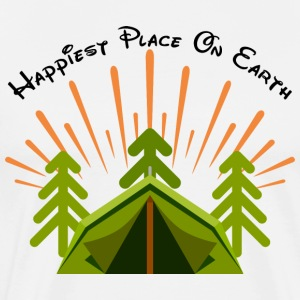 Camping My Happy Place - Men's Premium T-Shirt