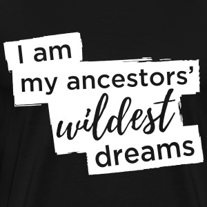Ancestors' Dream Large Graphic - Men's Premium T-Shirt