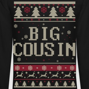 Big Cousin Ugly Christmas Long Sleeve Shirts - Crewneck Sweatshirt