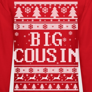 Big Cousin Christmas Long Sleeve Shirts - Crewneck Sweatshirt