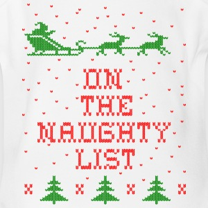 On the naughty list Baby Bodysuits - Short Sleeve Baby Bodysuit