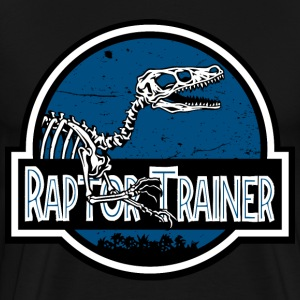 raptor trainer - Men's Premium T-Shirt