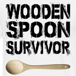 survivor wooden spoon - Men's Premium T-Shirt