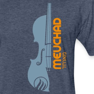 Violin Powder Blue T-Shirts - Fitted Cotton/Poly T-Shirt by Next Level