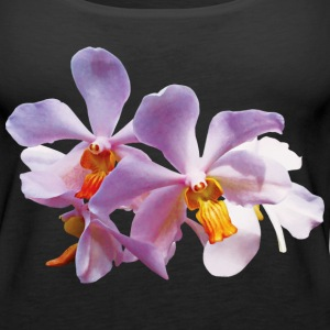 Delicate Pink Orchids Tanks - Women's Premium Tank Top