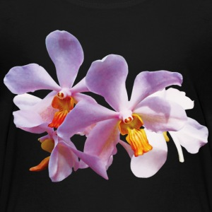 Delicate Pink Orchids Kids' Shirts - Kids' Premium T-Shirt