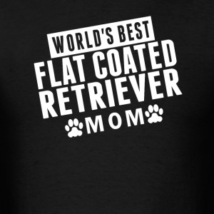 World's Best Flat-Coated Retriever Mom - Men's T-Shirt
