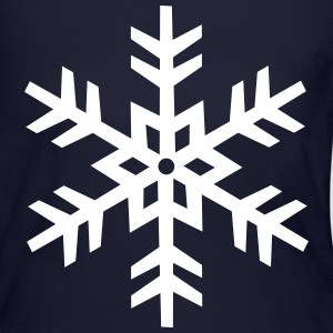 Snowflake Long Sleeve Shirts - Women's Long Sleeve Jersey T-Shirt