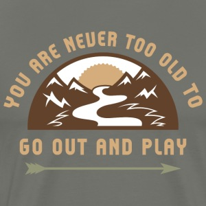 Camp Hike Play Outside - Men's Premium T-Shirt
