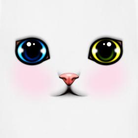 Design ~ Heterochromia Kitten Apron