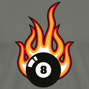 Billiards Ball Snooker - Men's Premium T-Shirt