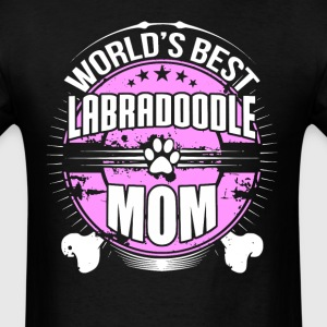 World's Best Labradoodle Mom Dog Owner T-Shirt - Men's T-Shirt