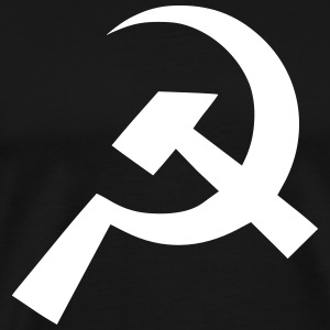 Communist Flag Shapes - Men's Premium T-Shirt