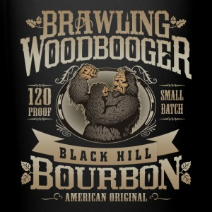 Brawling Woodbooger Black Hill Bourbon - Full Color Mug
