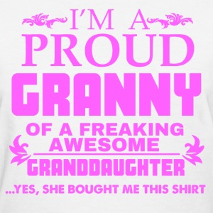 I AM PROUD GRANNY T-Shirts - Women's T-Shirt