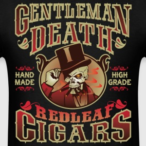 Gentleman Death Red Leaf Cigars - Men's T-Shirt