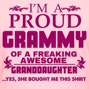 I AM PROUD GRAMMY T-Shirts - Women's T-Shirt
