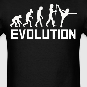 Figure Skater Evolution Figure Skating Shirt - Men's T-Shirt