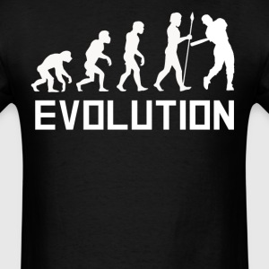 Baseball Player Evolution Funny Baseball Shirt - Men's T-Shirt