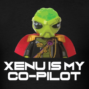 Xenu is my co-pilot