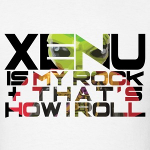 Xenu is my rock & that's how I roll T-Shirts - Men's T-Shirt