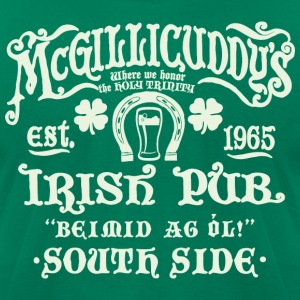 Irish Pub - Men's T-Shirt by American Apparel