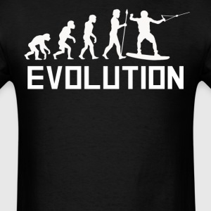 Wakeboarder Evolution Funny Wakeboarding Shirt - Men's T-Shirt