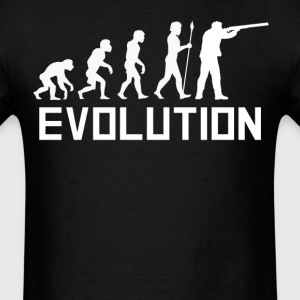 Duck Hunter Evolution Funny Hunting Shirt - Men's T-Shirt