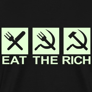 Eat The Rich - Men's Premium T-Shirt