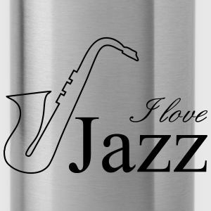 I love jazz Sportswear - Water Bottle