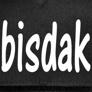 bisdak snap back baseball cap - Snap-back Baseball Cap
