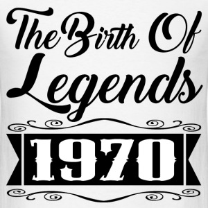 legends 1970 1.png T-Shirts - Men's T-Shirt