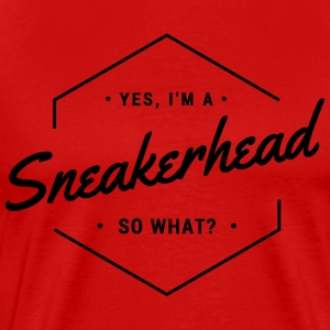 yes i'm a sneakerhead T-Shirts - Men's Premium T-Shirt