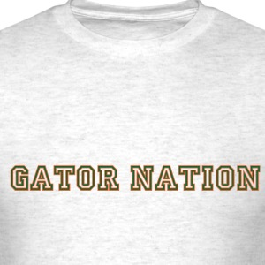 Gator_Nation_ Orange - Men's T-Shirt