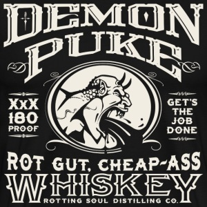 Demon Puke Whiskey - Men's Premium T-Shirt