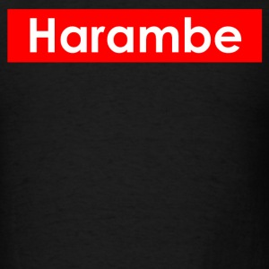 harambe text - Men's T-Shirt