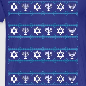 hanukkah winter T-Shirts - Men's Premium T-Shirt